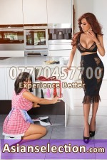 DUO Sakura Jennifer Asian Escorts in Bayswater London